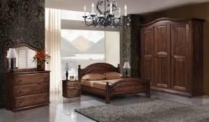 Спальня Лотос-3 (сосна)
