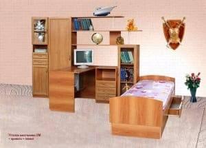 Уголок школьника плюс Кровать и Пенал 2М